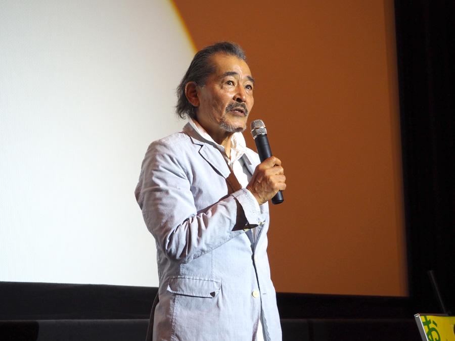 75歳を迎えても、いまだダンディーな藤竜也(23日・梅田ブルク7)
