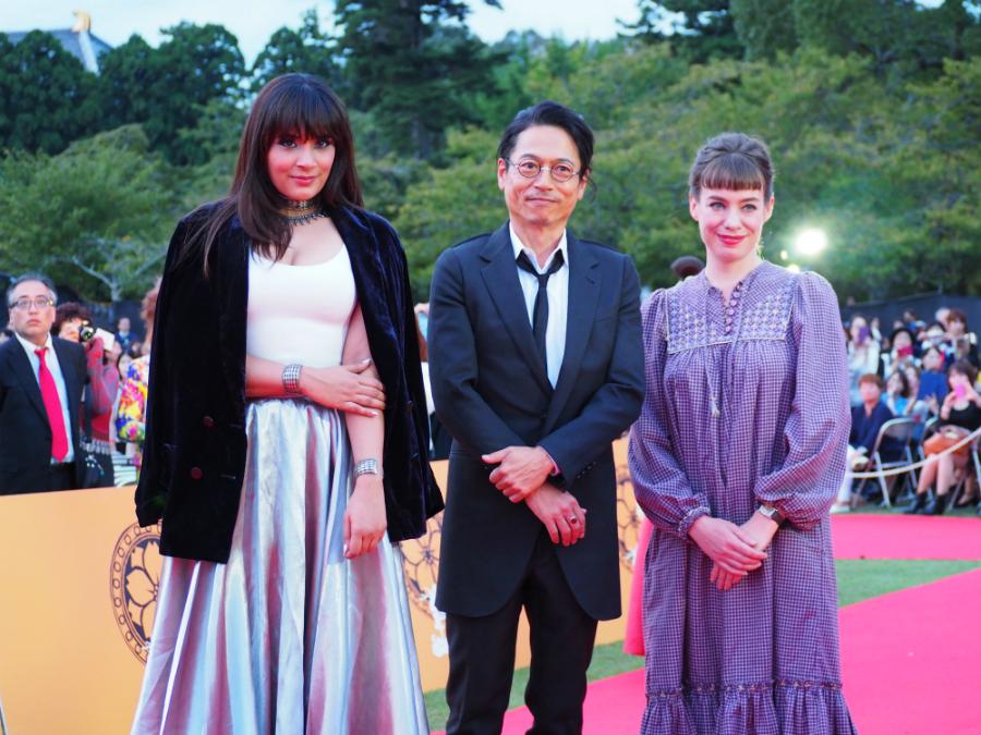 「インターナショナルコンペティション」で審査委員長をつとめる俳優・三上博史