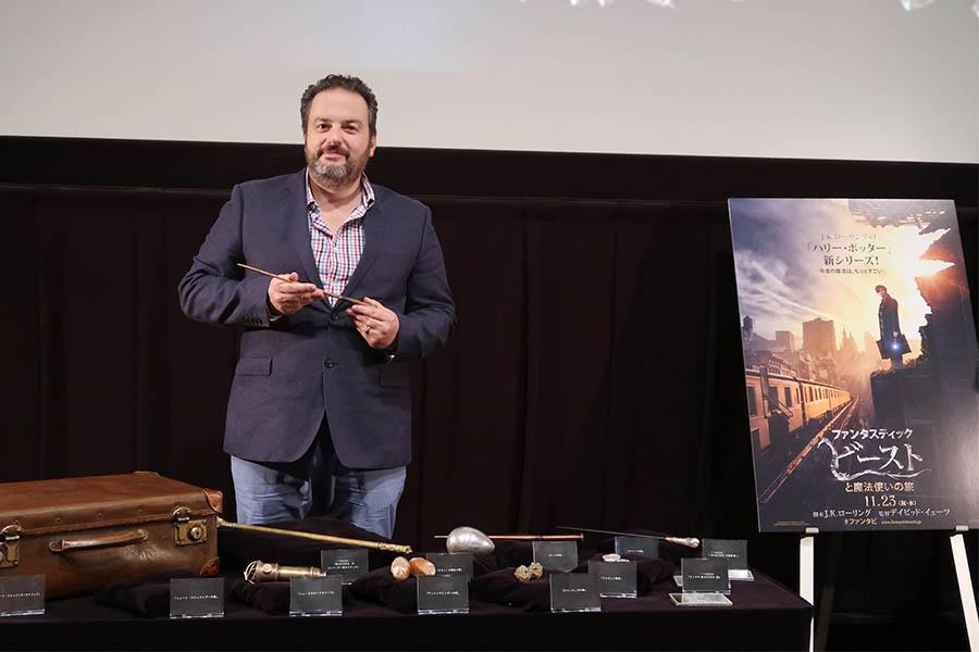 ほかにも『スター・ウォーズ エピソード1 ファントム・メナス3D』で小道具を担当したり、2016年公開『ターザン REBORN』では模型制作を監修