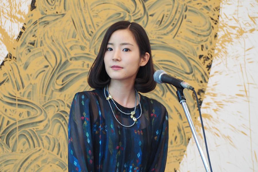 『メアリー・カサット展』開会式に登場した蓮佛美沙子