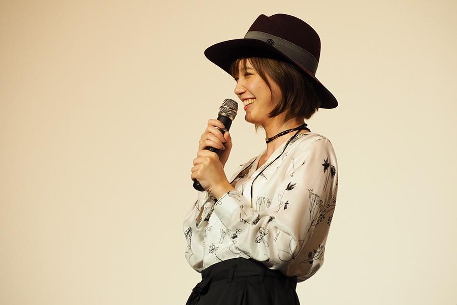 主演映画『少女』の舞台挨拶に登場した女優・本田翼