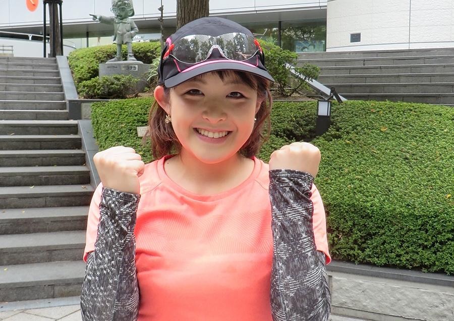 『第6回大阪マラソン』に挑戦する読売テレビ・諸國沙代子アナ