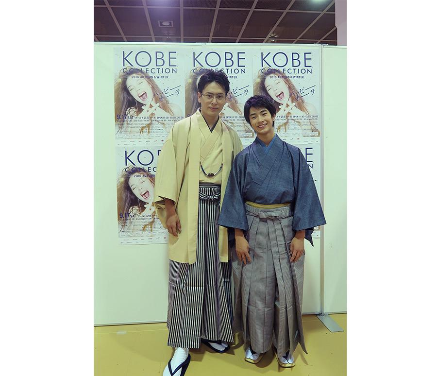 左から山下健二郎(三代目 J Soul Brothers)、前田旺志郎