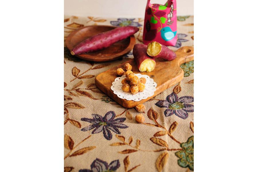 安納芋のうぐいすボール(594円)
