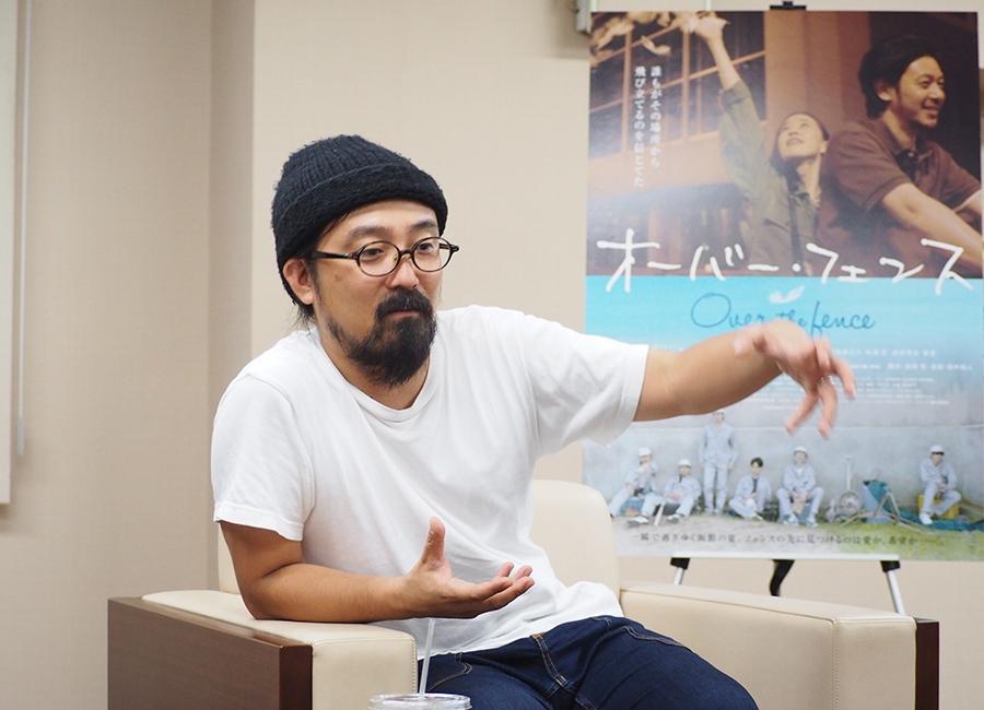 最新作『オーバー・フェンス』について語る山下敦弘監督