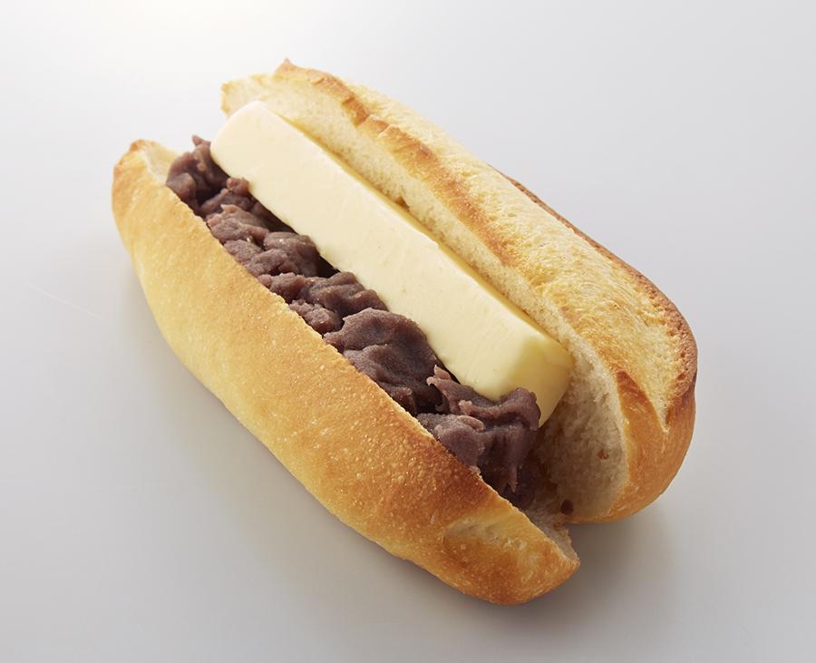 「こし餡と発酵バターのサンド」756円