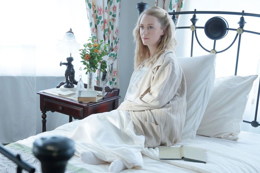 「『べっぴんさん』はとても素晴らしいドラマになると思います」とコメントしたシャーロット・ケイト・フォックス
