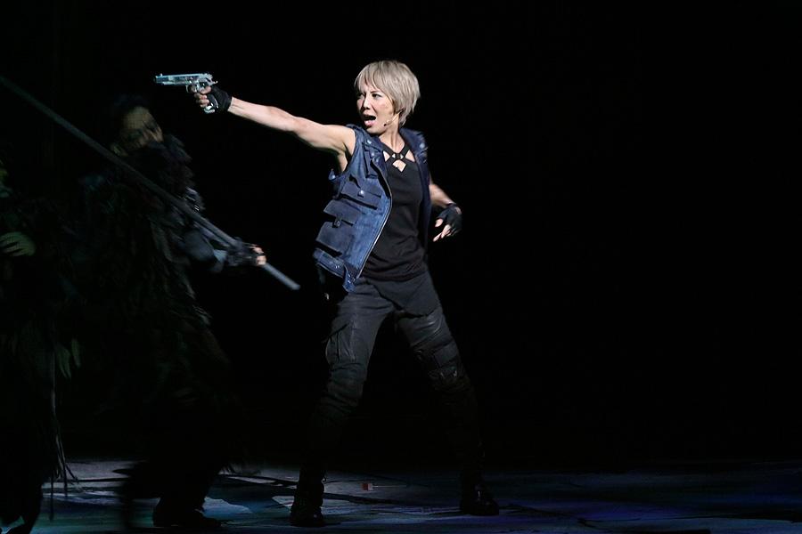 柚希礼音 (『ミュージカル バイオハザード ~ヴォイス・オブ・ガイア~』9/30 赤坂ACTシアターにて)