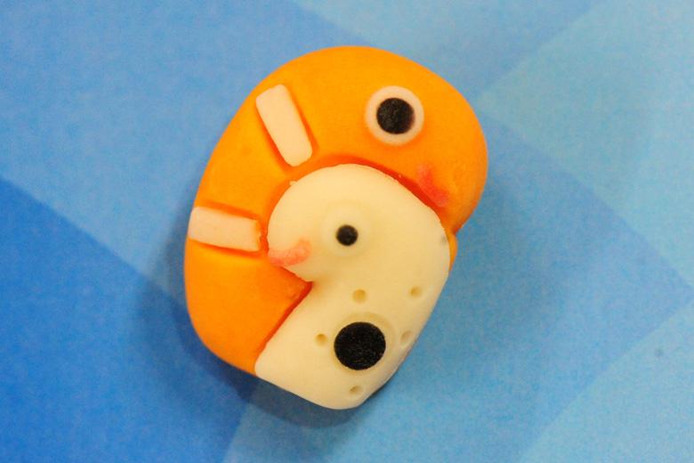 「水族館和スイーツ」チンアナゴ&ニシキアナゴ210円(ミュージアムショップにて)