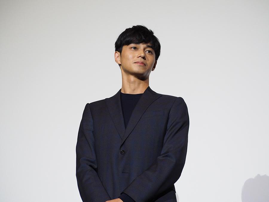 「神戸ロケは最高の環境だった」と語った俳優・東出昌大(11日・梅田ブルク7)