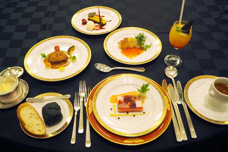 「ホテルニューオータニ大阪」の総料理長・太田高広による1夜限りのハロウィン期間限定スペシャルコース