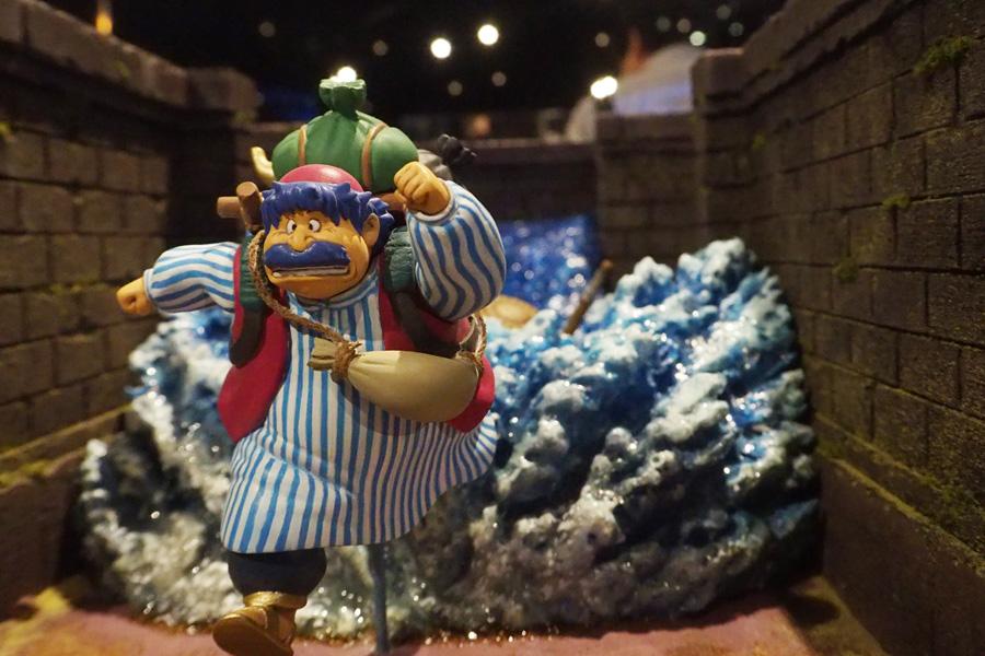 海洋堂による『ドラゴンクエスト』名シーンのジオラマは、堀井氏も大絶賛!