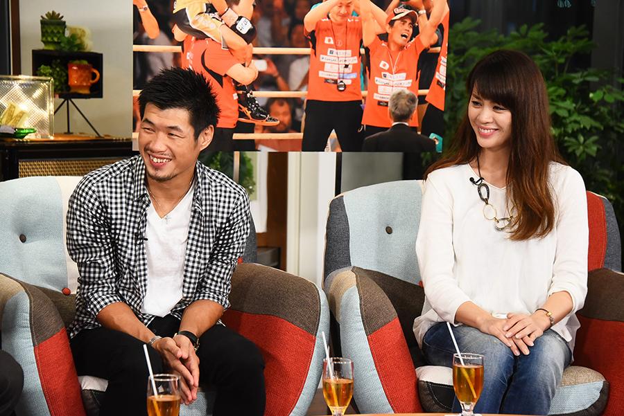 長年、長谷川穂積を支えてきた妻・泰子さんもスタジオに登場