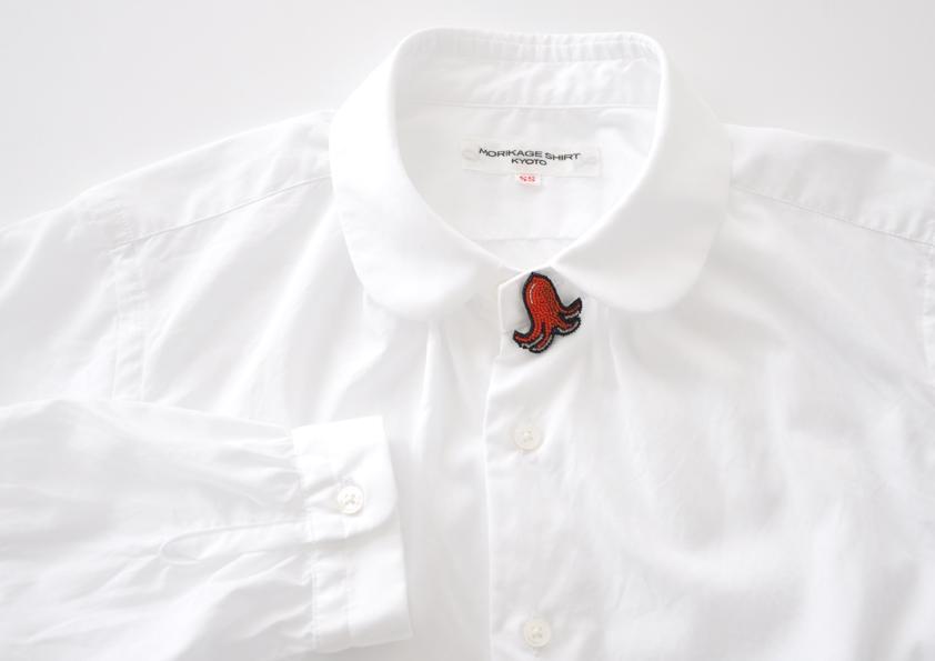 深夜食堂の原画展が、京都のモリカゲシャツで。エピソードでおなじみの、たこウィンナーのアイテムも