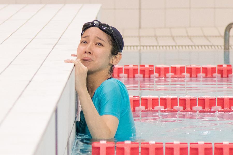 ドラマ『メディカルチーム レディ・ダ・ヴィンチの診断』で、「50メートルクロール10本」を命じられた田丸綾香役の吉岡里帆