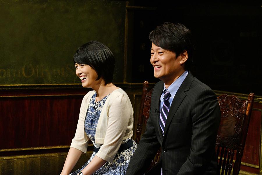 夫婦でカンテレアナウンサーという林弘典アナ(右)と中島めぐみアナ
