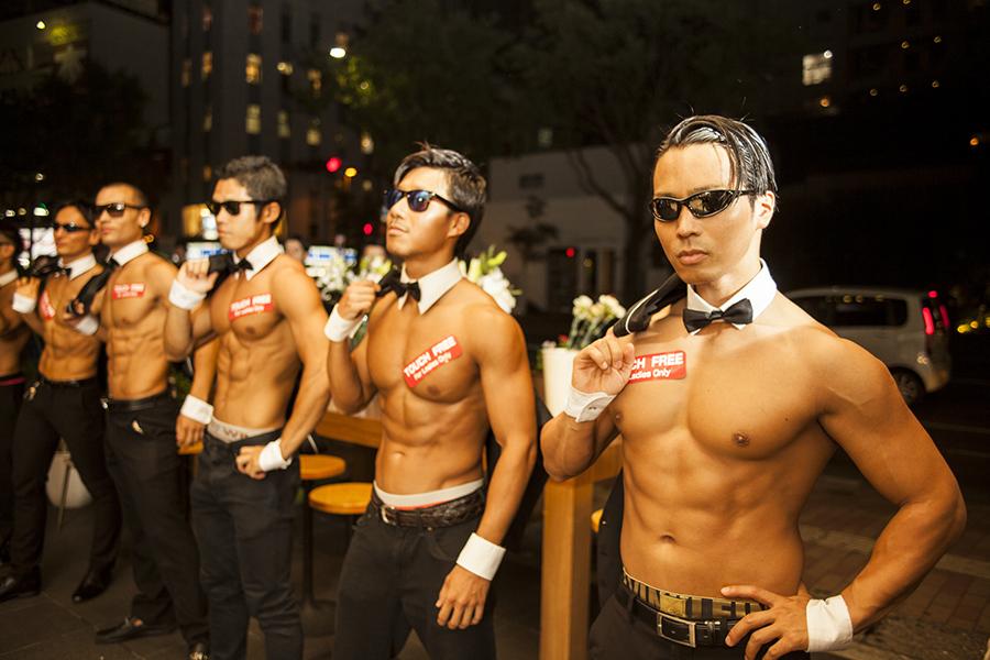 鍛え上げられた身体こそ、筋肉紳士集団「ALL OUT」のユニフォーム
