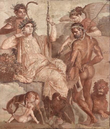 《赤ん坊のテレフォスを発見するヘラクレス》 後1世紀後半 ナポリ国立考古学博物館 ©ARCHIVIO DELL'ARTE - Luciano Pedicini / fotografo