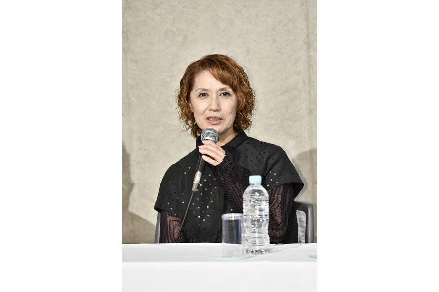 「ドニャ・プルエーズという役は、私が今まで演じた女性像を集めても間に合わないぐらいの役」と剣幸(13日、春秋座)