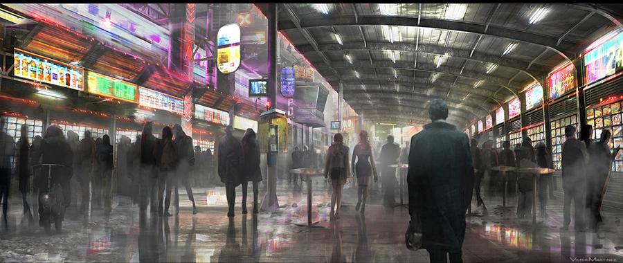公開された映画『ブレードランナー 2049』のコンセプトアート