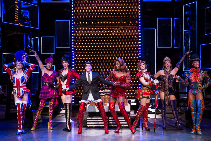 来日版公演より Kinky Boots National Touring Company. Photo: Matthew Murphy.