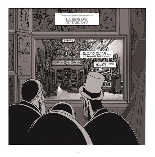 マルク=アントワーヌ・マチュー/「レヴォリュ美術館の地下ーある専門家の日記よりー」 ©Futuropolis / Musée du Louvre éditions 2006
