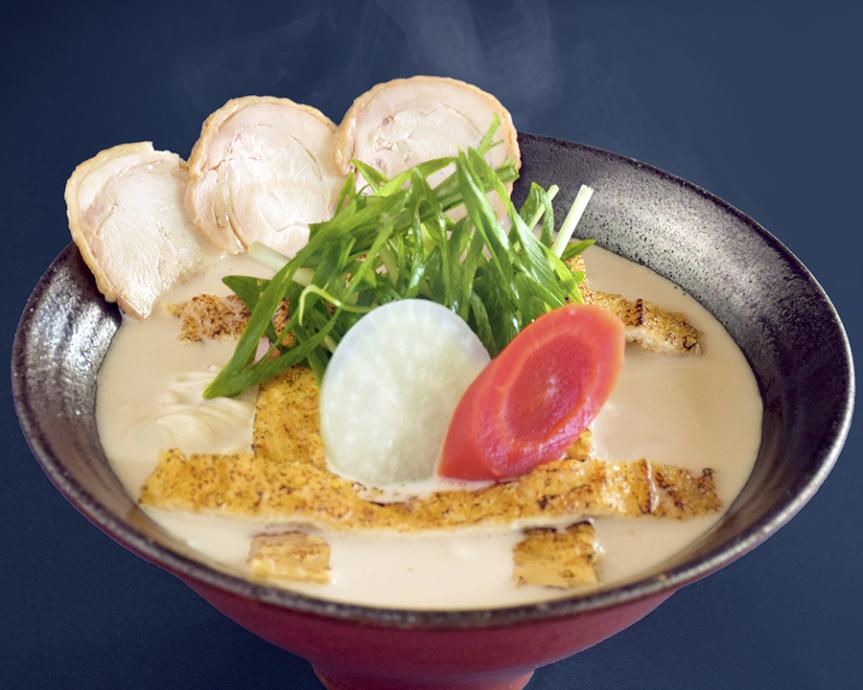 「佐々木酒造」監修した「祇園麺処むらじ」の香ばしお揚げと酒粕ラーメン