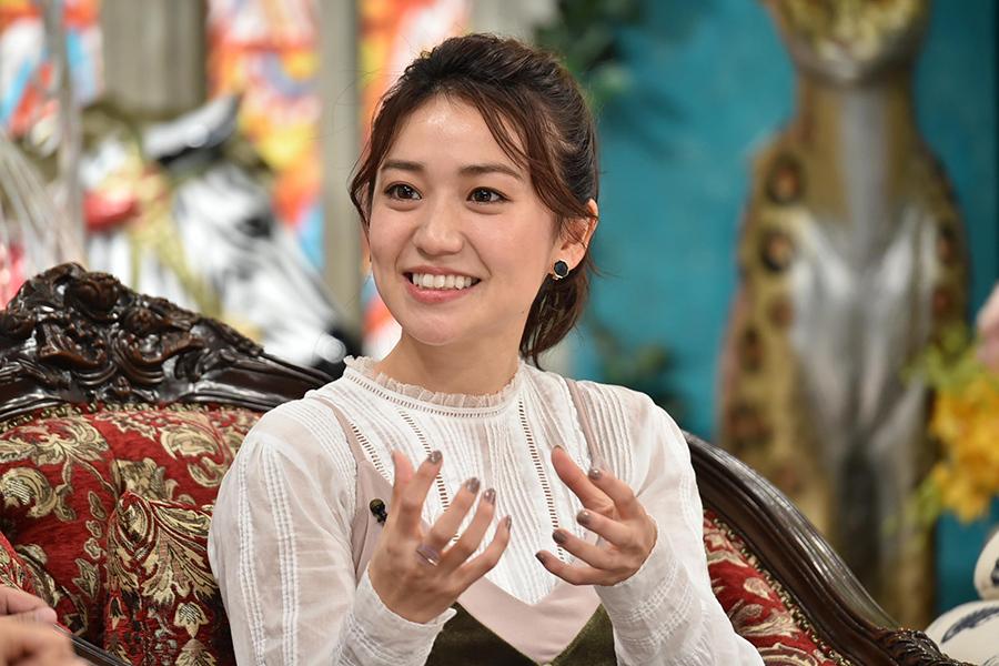 11月22日放送のバラエティ番組「#nakedEve」にゲスト出演した大島優子