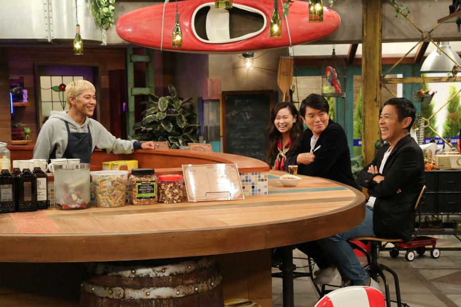 ナインティナイン・岡村隆史とロンドンブーツ1号2号・田村亮が、ゲストと素のトークをする『おかべろ』