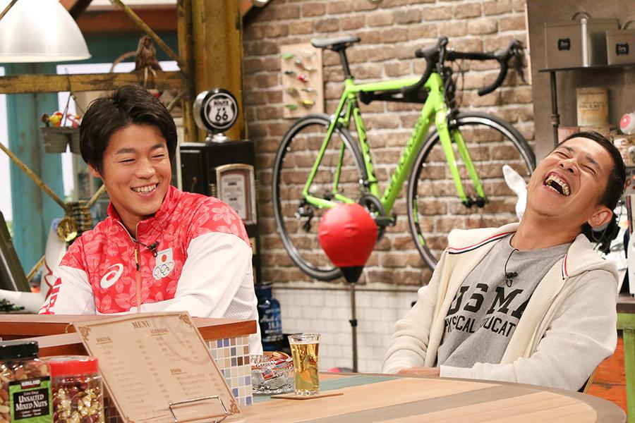 羽根田選手の恋愛事情になぜか岡村も大興奮