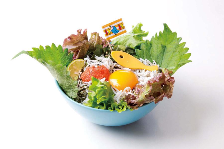 江ノ島ショーン(28)おすすめシラス丼 1,296円