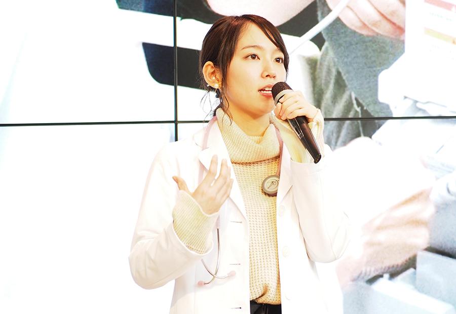 出演中のドラマのイベントに登場した女優・吉岡里帆(29日・カンテレ)
