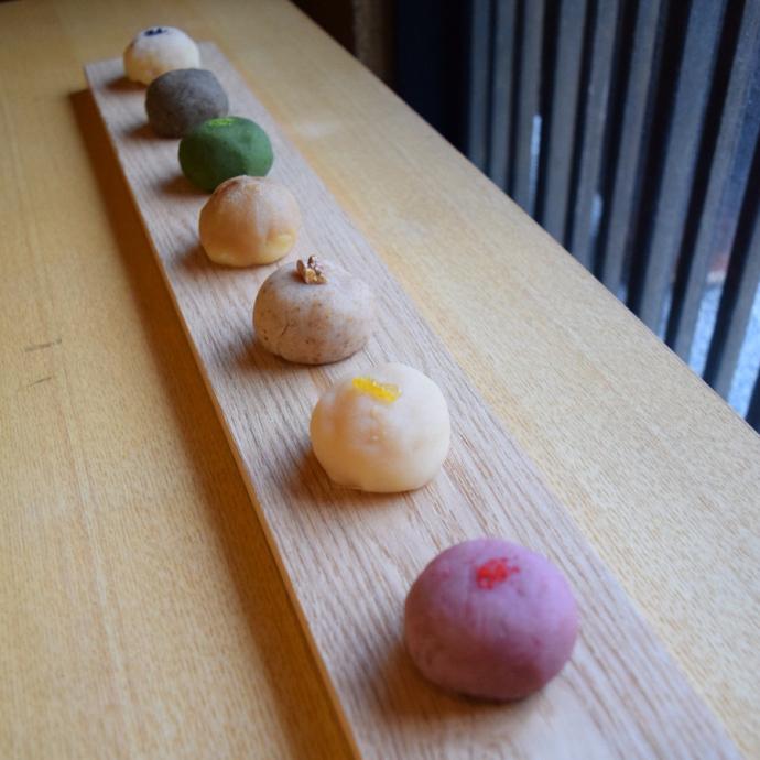 関西の人気和菓子3店によるコラボブランド「さんぽ」も初登場