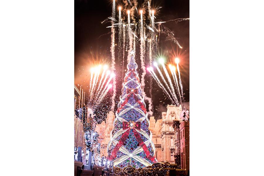 今年最後となる「一生に一度は見たいクリスマスツリー」/画像提供:ユー・エス・ジェイ