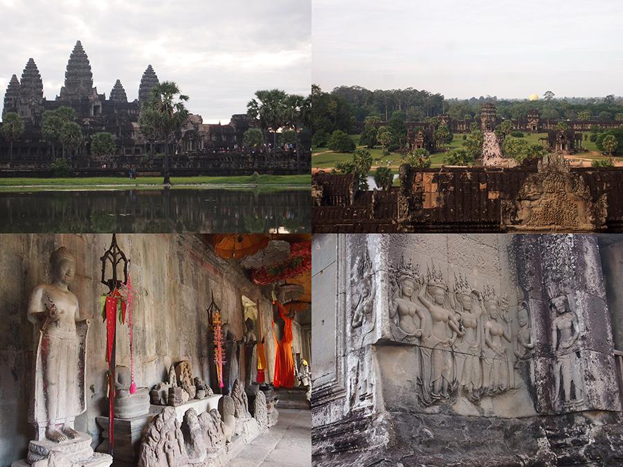 世界中から観光客が訪れる、カンボジアの世界遺産「アンコール遺跡」のアンコール・ワット