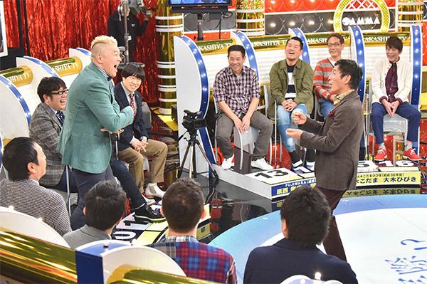 『痛快!明石家電視台正月SP』(毎日放送)では、結成20年以上のコンビ8組16人が、テーマごとに「実際どうなん!?」をトーク