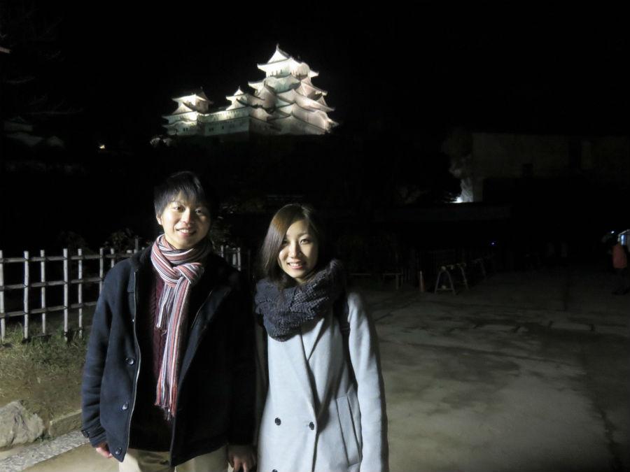 「千姫のことは初めて知り、勉強にもなった」と田中一生さん、矢野晶子さん