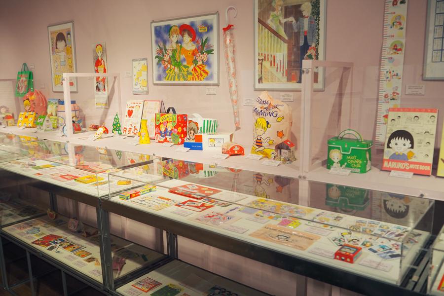 『ちびまる子ちゃん』や『姫ちゃんのリボン』のふろくも多数展示