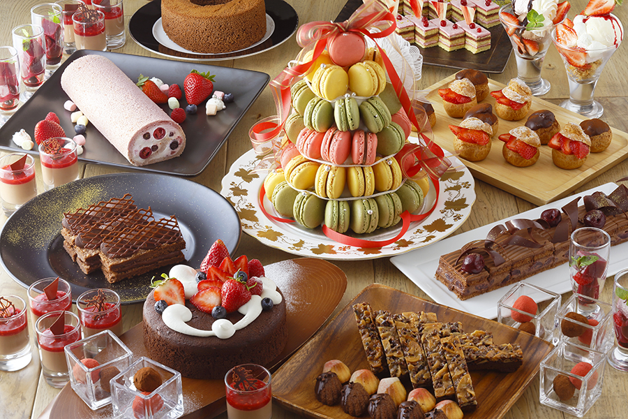 「京都タワーホテル」の『Chocolate×Berry Special Buffet』