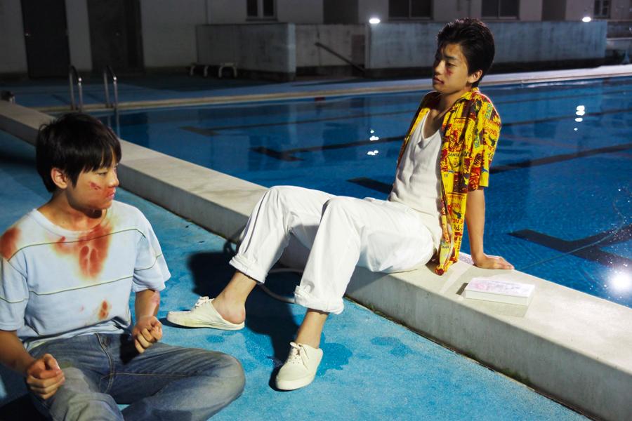 タカシの同級生であるヤンキー役として出演するのは、ドラマ『仰げば尊し』などで人気急上昇中の俳優・健太郎