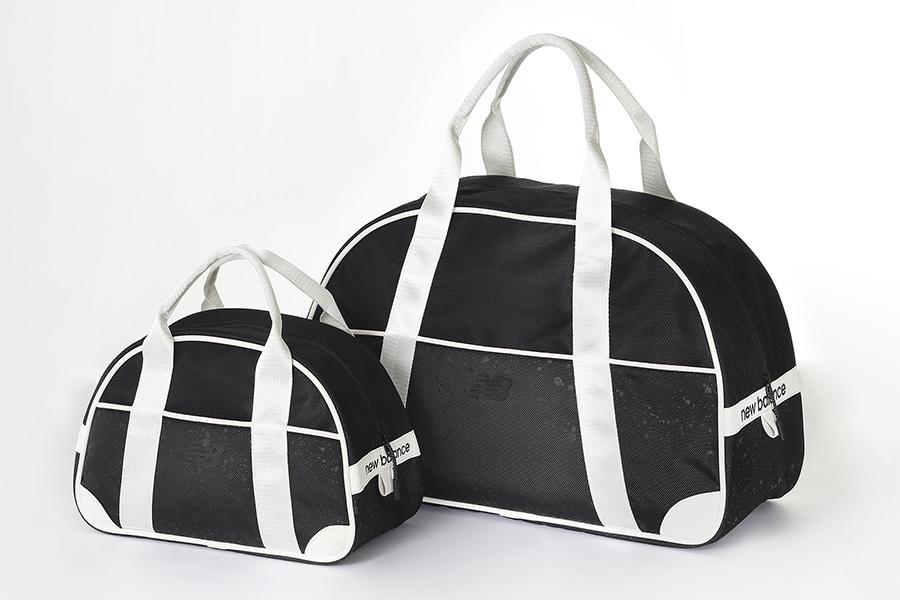 普段遣いでも活躍しそうなニューバランスのカートバッグ(大13000円、小7800円/黒)