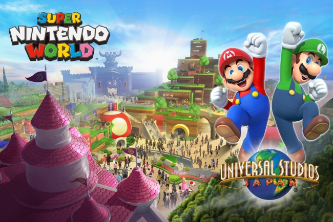東京オリンピック前にオープン予定と発表された「SUPER NINTENDO WORLD」 ® & © Universal Studios & Amblin Entertainment © & ® Universal Studios. All rights reserved. Nintendo properties are trademarks and copyrights of Nintendo. © 2016 Nintendo.