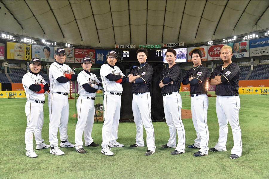 石橋ジャパンと侍ジャパンの1年ぶりとなる「リアル野球BAN」対決が実現 © ABC