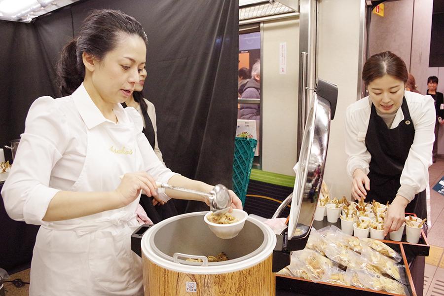 ホームに良い匂いが漂っていた「吉田麻子料理教室」の肉豆腐