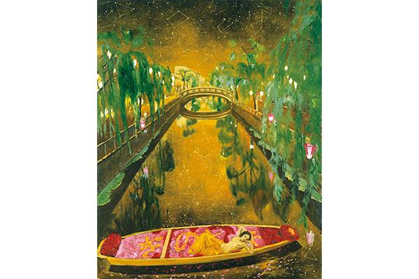 「城崎幻想」2006年 作家蔵/12月17日より、横尾忠則現代美術館にて