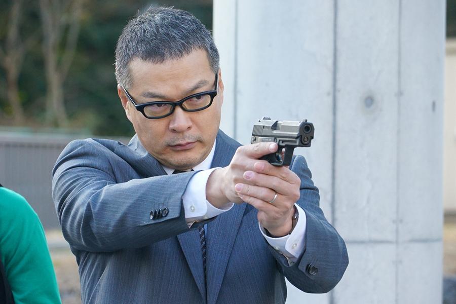 火曜夜9時ドラマ『CRISIS 公安機動捜査隊特捜班』で特捜班の班長・吉永光成を演じる田中哲司