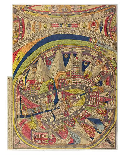 《ネゲルハル〔黒人の響き〕》 1911年 ベルン美術館 アドルフ・ヴェルフリ財団蔵 © Adolf Wölfli Foundation, Museum of Fine Arts Bern(兵庫県立美術館にて、1月11日より)