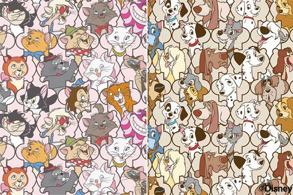 ディズニーの犬猫キャラが大集合『Girls Collection』
