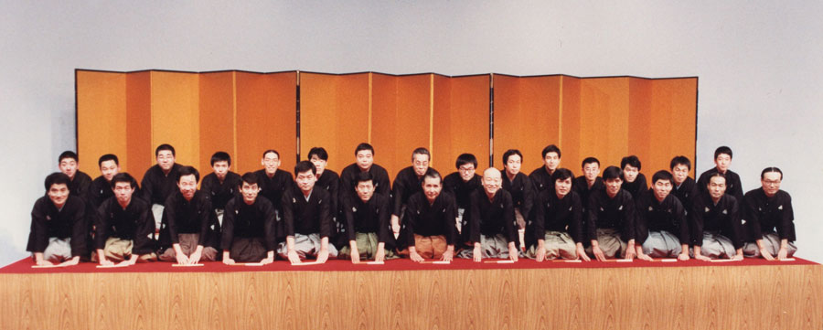 米朝一門勢揃い(1986年正月)