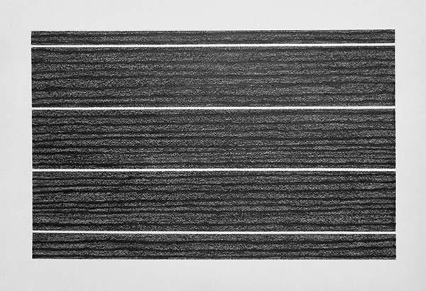 ドミニク・ルトランジェ《LIWLDS》 2016年 pencil on paper 50×66cm/ドミニク・ルトランジェ個展@テヅカヤマギャラリー(大阪市西区)、1月20日より